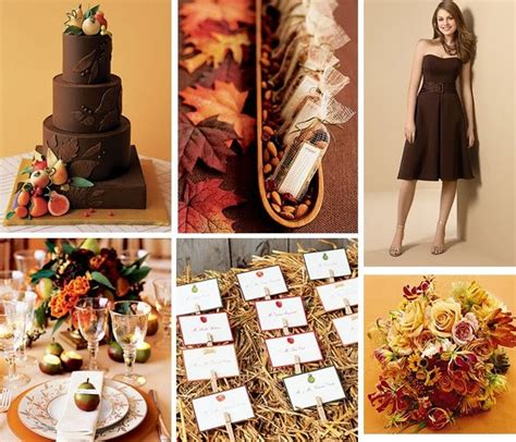 tastefully entertaining event ideas inspiration a orange chocolate rustic wedding