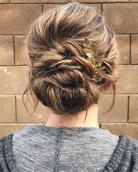 bridal hairstyles for relaxed hair messy and relaxed updo romantic wedding hairstyles for