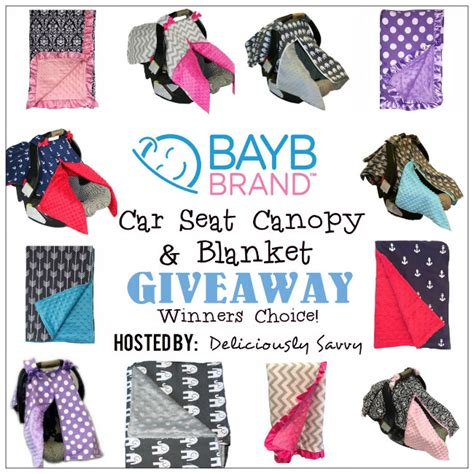 Car Seat Giveaway 2017 - bayb brand car seat canopy blanket giveaway ends 8 07 sweet southern savings