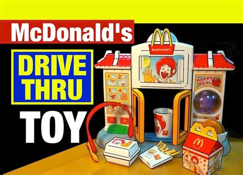 Mcdonald S One Summer Toys mcdonald s happy meal drive thru mcdonalds toys review by mike mozart of thetoychannel