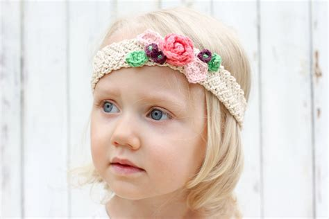 free crochet pattern flowers headbands free crochet flower headband pattern baby toddler adult