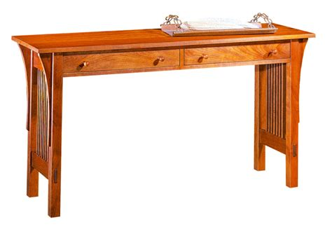 cherry wood sofa table mission style sofa table cherry cherry mission sofa table