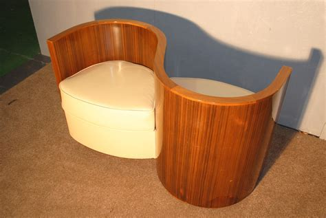 Art Deco Love Seat    Cloud 9, Art Deco Furniture Sales