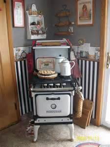 antique stove kitchen room