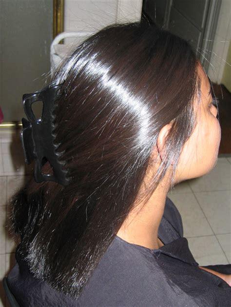 japanese thermal straightening black hair japanese hair straightening thermal reconditioning chi