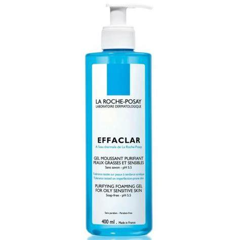 effaclar gel moussant purifiant peaux grasses et sensibles