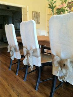 How To Make Easy Slipcovers For Dining Room Chairs How To Make Simple Slipcovers For Dining Room Chairs Chair Slipcovers Diy Chair And Style