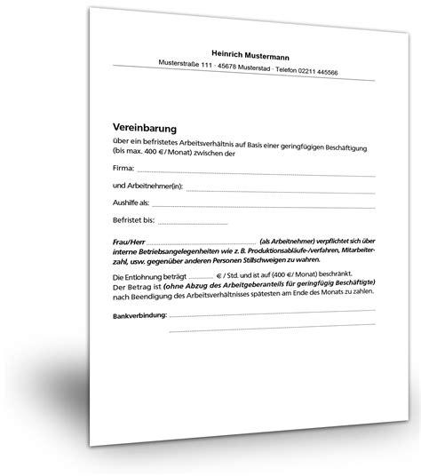 Bewerbung Mini Muster Befristeter Mietvertrag Einfamilienhaus Mietvertrag Ber