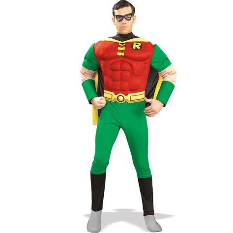 comic robin hood deluxe muscle super hero men