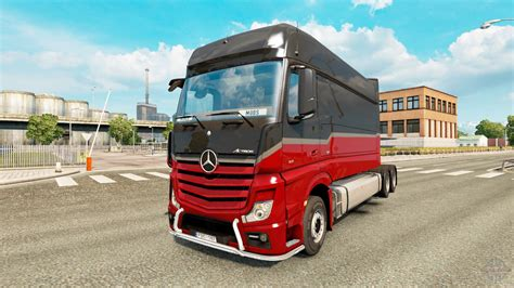 mercedes truck mercedes actros mp4 longline for truck simulator 2