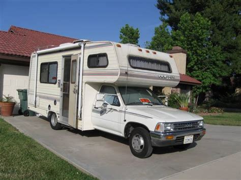 Toyota Motorhome For Sale By Owner Used Rvs 1990 Dolphin Toyota Rv For Sale By Owner