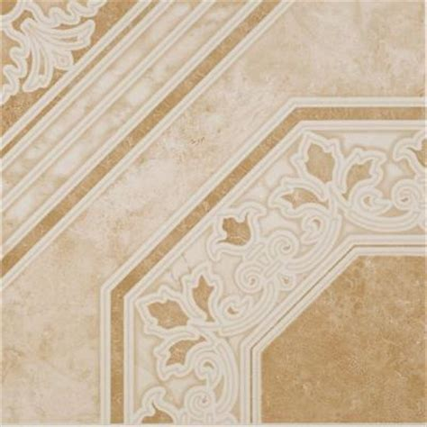 Home Depot Ceramic Tile Flooring by Colonial Gold 13 In X 13 In Ceramic Floor And Wall Tile