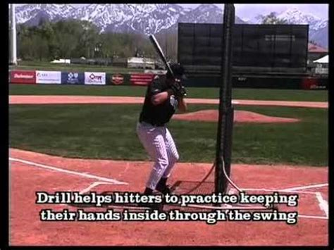 how to improve baseball swing the fence drill baseball hitting drills mechanics