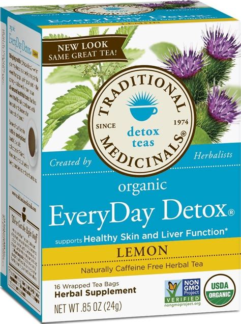 Traditional Medicinals Detox Tea Benefits by Traditional Medicinals Detox Tea Organic Everyday Detox