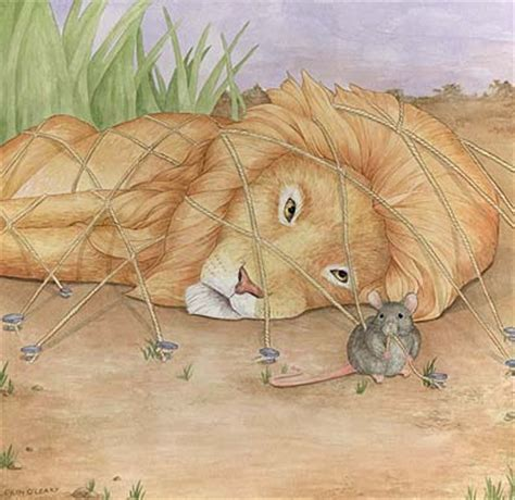 reading comprehension lion and mouse fable level a