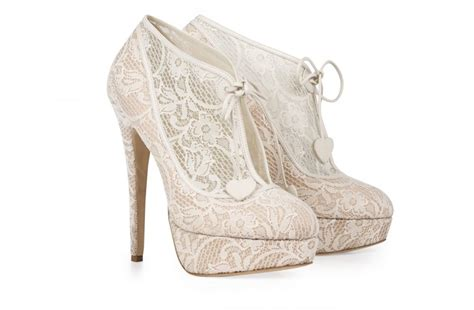 Wedding Shoes Booties by Lace Bridal Booties