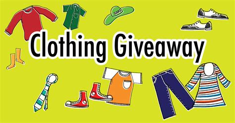 Clothes Sweepstakes - clothing giveaway mississaugas of the new credit first nation