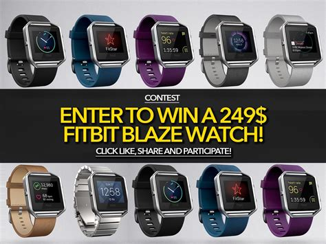 Contest To Enter To Win Money - contest enter to win a 249 fitbit blaze watch