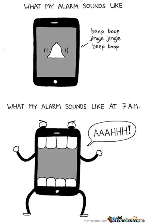 Iphone Alarm Meme - iphone alarm by kodaka meme center