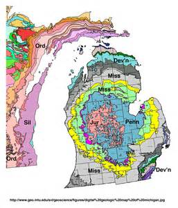 Michigan Maps Login by Michigan Basin Geology Makes Michigan A Great Oil And Gas