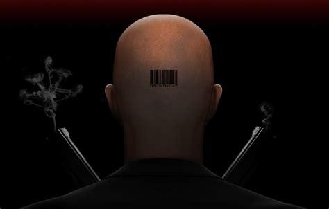 barcode tattoo agent 47 wallpaper head weapons agent barcode bald hitman