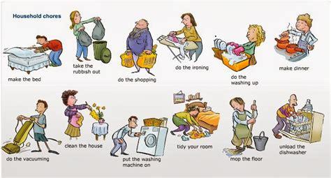 home chores what household chores do you do