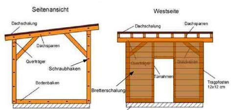 Haus Selber Bauen Anleitung 6309 by Bauanleitung Gartenhaus Mit Pultdach My