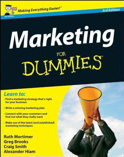 for dummies marketing and marketing techniques on