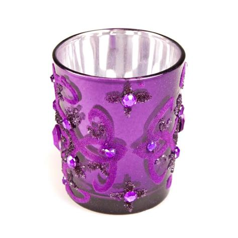 Purple Candle Holders Your Chance Purple Tealight Candle Holder Decorations And Supplies Uk Cheap Decorations And