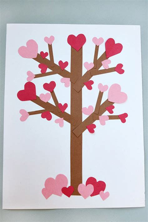 Valentines Day Paper Crafts - 20 s day crafts for arts and