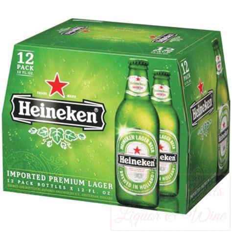 Heineken 12 pack cold bottles