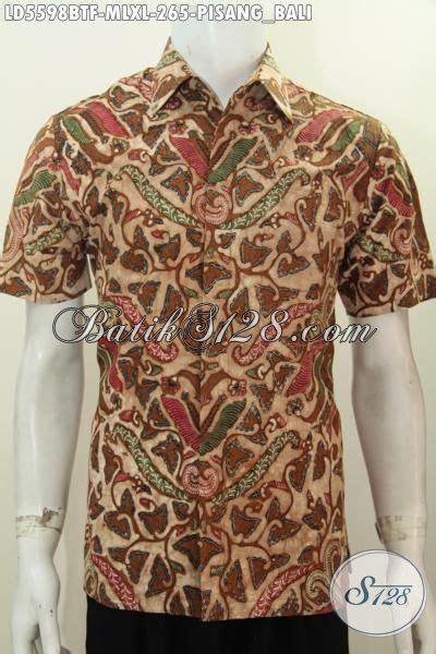 Baju Pisang Baju Batik Klasik Lengan Pendek Motif Pisang Bali Kemeja