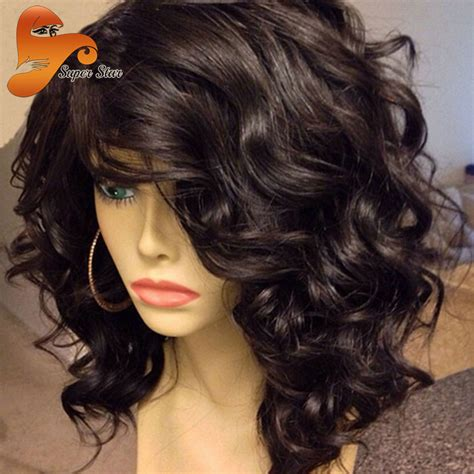 wet and wavy wigs for black women human hair lace front wigs black women wet wavy full lace