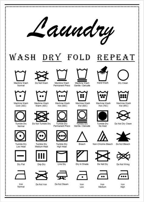 7 Signs That You Are Spending On Clothes by Best 25 Laundry Symbols Ideas On Godliness