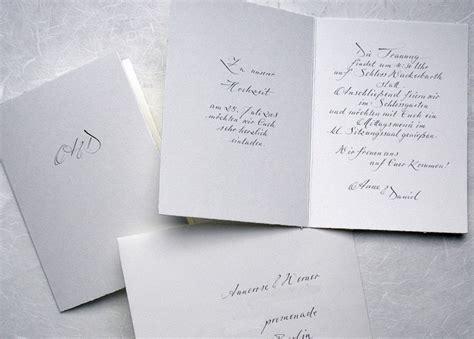 Hochzeitseinladung Handgeschrieben by Hochzeitseinladungen Handschriftlich