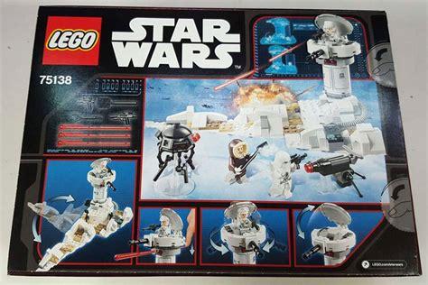 Harga Diskon Lego Wars Hoth Attack 75138 75138 hoth attack wars sets brickpicker