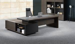 Storage Credenza Office Furniture Stylish Larry Office Table In Wood Amp Leather Boss S Cabin
