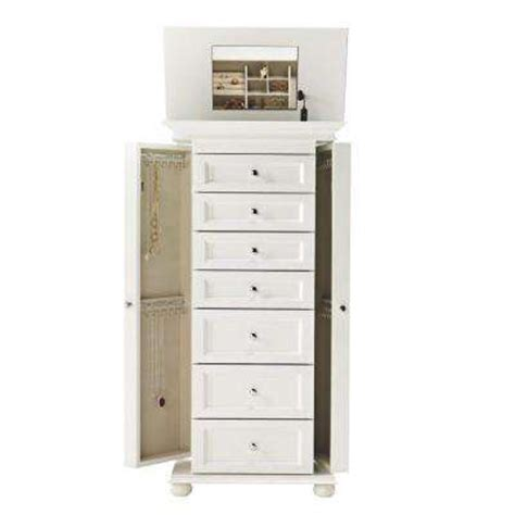 hton bay jewelry armoire home decorators collection furniture the home depot