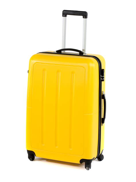 constellation galloway abs suitcase 28 quot yellow