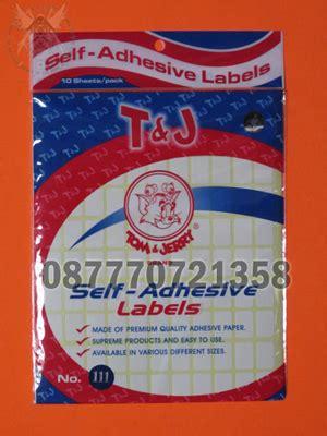 Label No 103 Isi 12 Nama jual aneka stiker kertas label tom jerry komunitas
