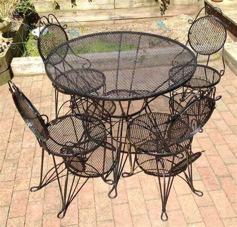 wrought iron garden table remarkable wrought iron outdoor furniture all home