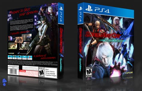 May Cry 4special Edition Ps4 may cry 4 special edition playstation 4 box cover by agentlshade