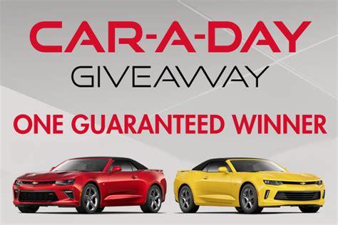 Car A Day Giveaway - car a day camaro giveaway winners seminole hard rock ta