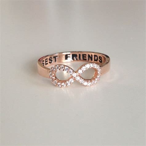 louun best friends gold ring