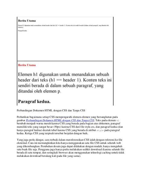 layout dasar dan penerapannya pdf webdesign dasar 03 html dan css dasar