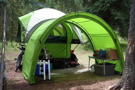 Camping Awning June 2011 Compact Camping Concepts
