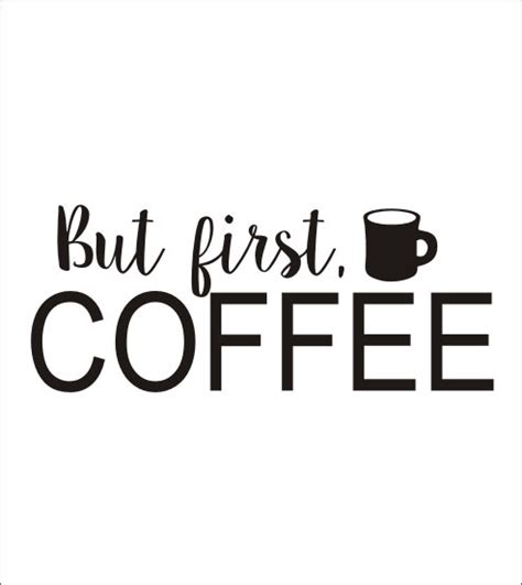 Wall Transfer Stickers but first coffee decal wall decal coffee by