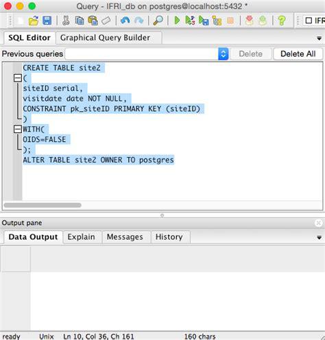create table data types postgres brokeasshome