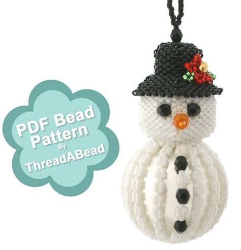 pony bead snowman 2092 best images about bead the on