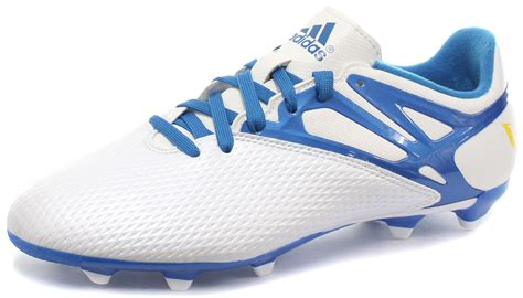 all football shoes adidas messi 15 3 fg ag white junior football boots soccer